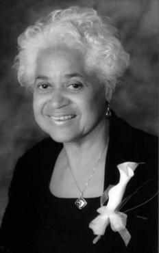 The late Sonia Barnett