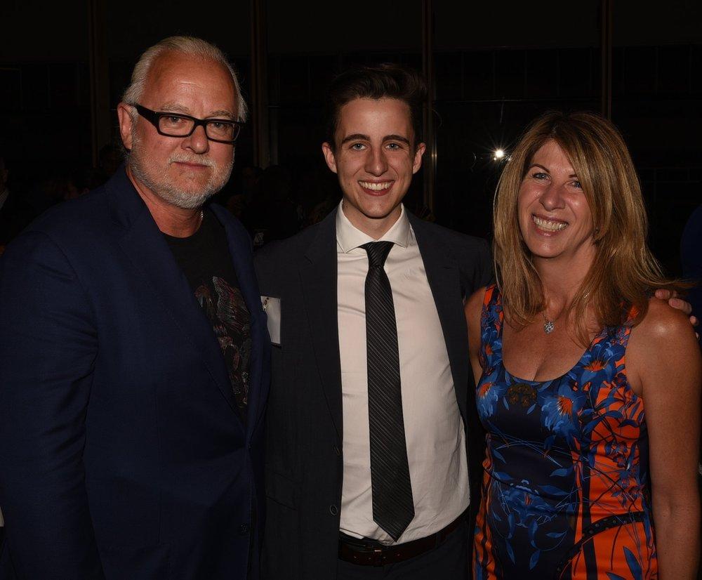 Allan Magee and Melanie McCaig with their son John Magee