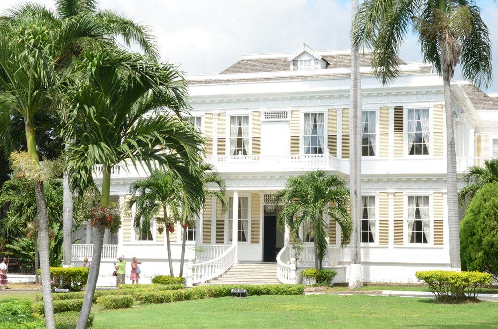 The historic Devon House