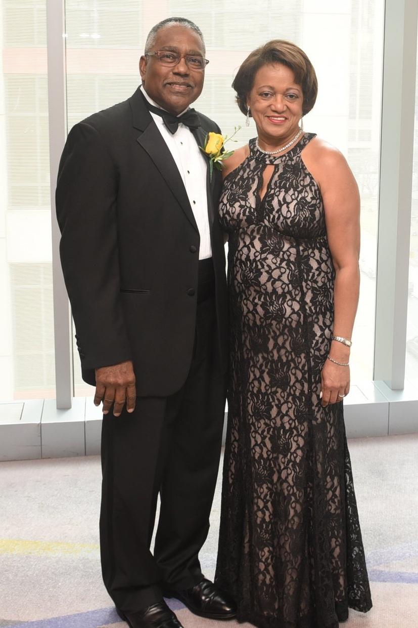 Vice-Chancellor Award winner Greg Regis & his wife Althea