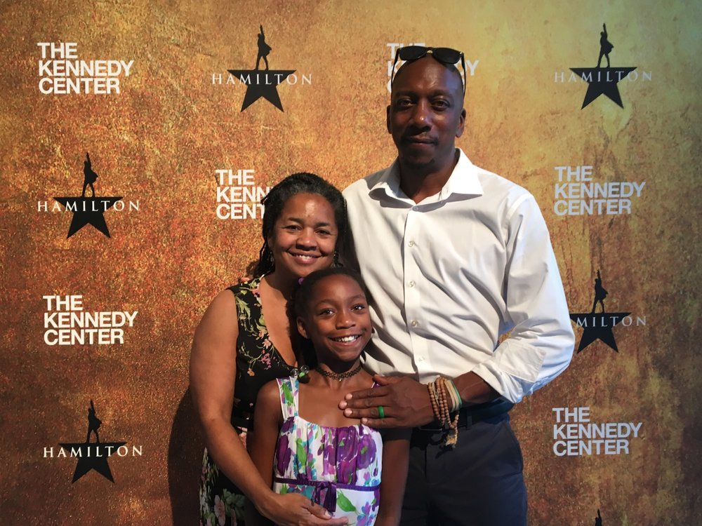 Jo-Anne Henry-Bent with her husband Troy Bent & their daughter Lani