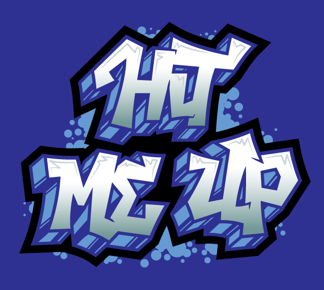 hit-me-up-graffiti-hand-lettering