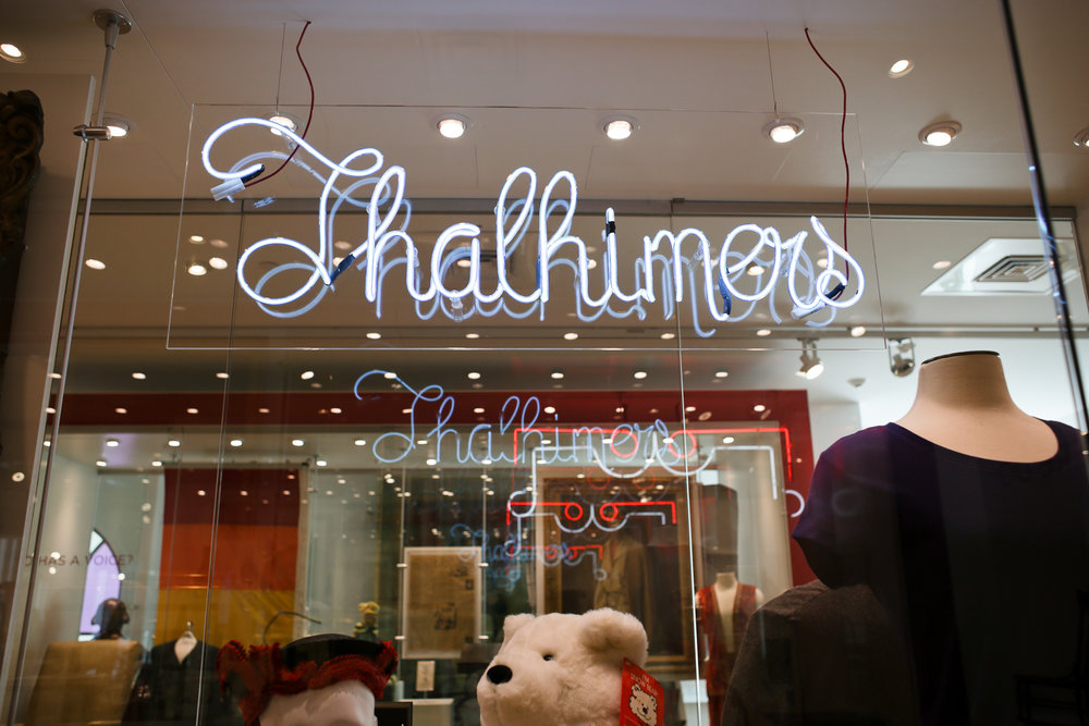 Thalhimers was one of  the  hot spot department stores in the city.