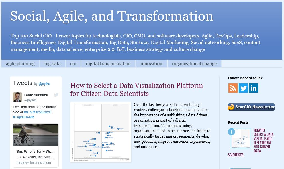 Social, Agile and Transformation