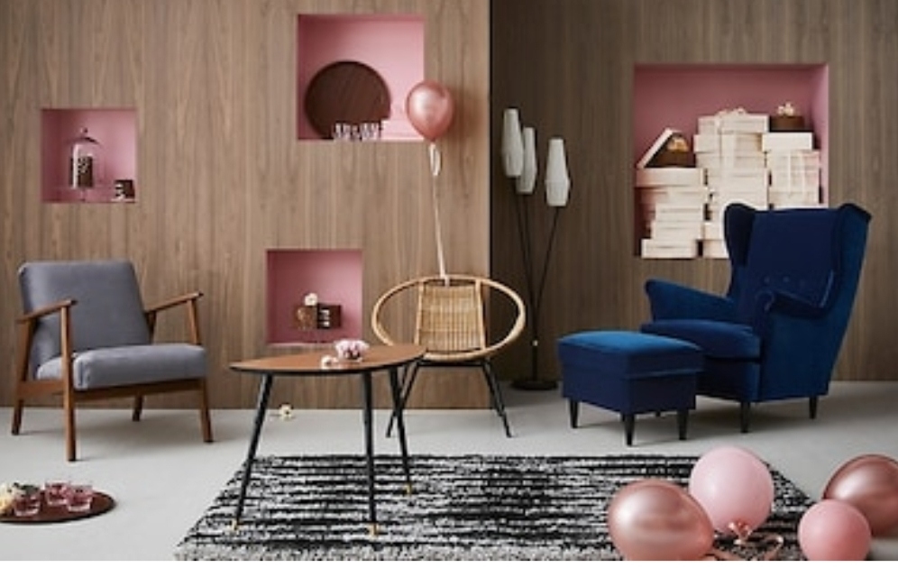 Just some of the design classics from IKEA  https://www.ikea.com/gb/en/search/?k=re-imagined+classics