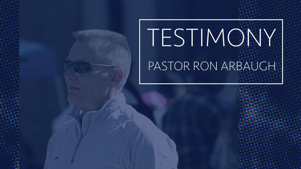 LISTEN TO PASTOR RON'S TESTIMONY