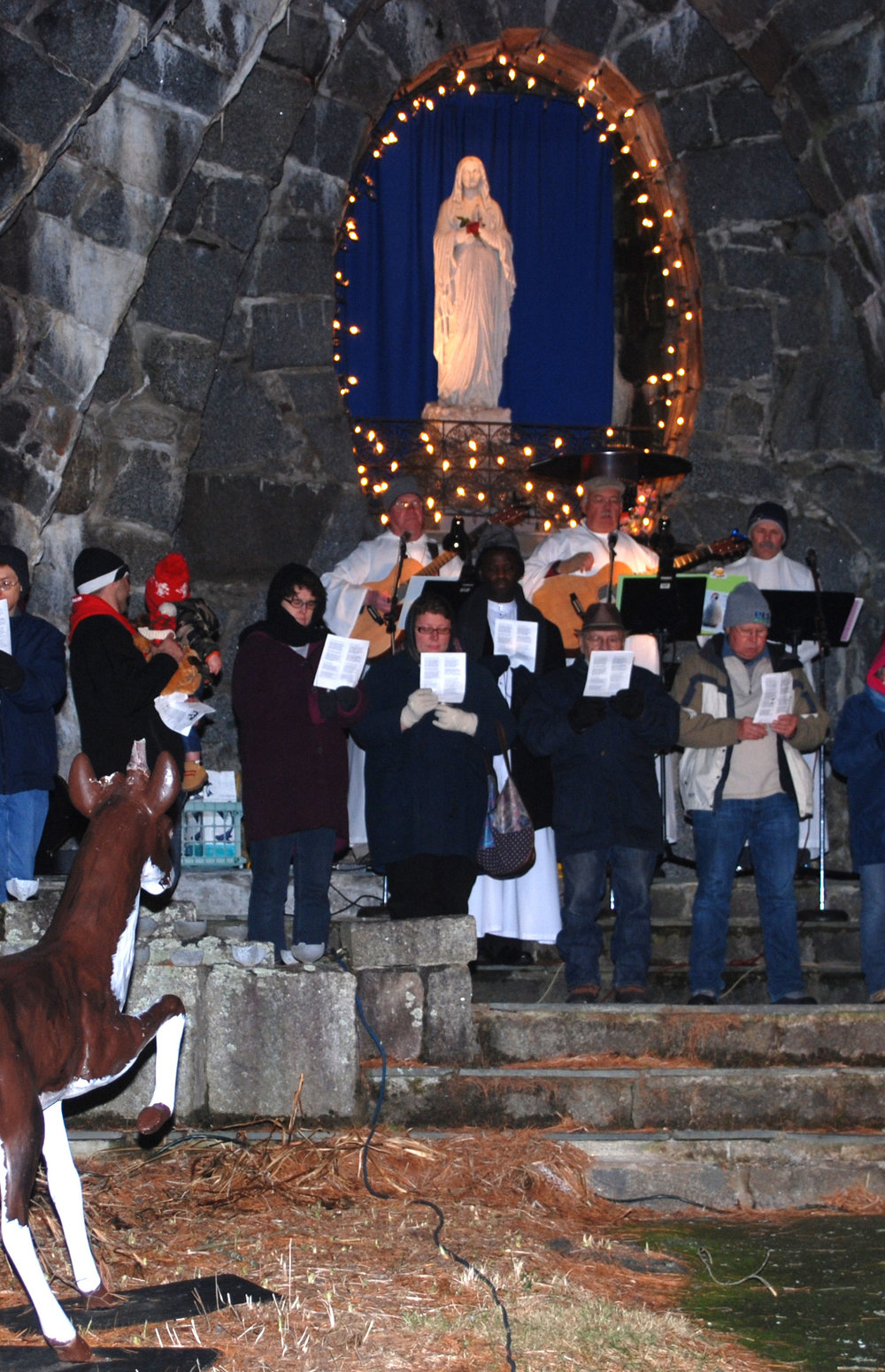 CHRISTMAS PRELUDE – CANDLELIGHT CAROLING - Saturday, December 1, 2018, 6:30 pmLocation is St. Anthony's Franciscan Monastery outside in front of the grotto at 26 Beach Ave, Kennebunk ME 04064, 207-967-4865Join the Franciscan Friars for an evening of Christmas songs by candlelight. Christmas Prelude starts Thursday November 29th and ends Sunday December 9th. Be sure to stay at the Franciscan Guest House during Prelude. Contact the hotel for reservation prices and details. For more information about Christmas Prelude, click here.Dinner is available for $29 plus tax at the Franciscan Guest House from 6:30 to 8:15 pm in the hotel dining room. Please call the Franciscan Guest House at 207-967-4865 to make reservations. Seating is limited. See the Menu here.Prelude Access: For Pedestrian Safety on Saturday December 1st, cars will not be allowed to into the front gate from 5 pm until 8 pm. We recommend coming early or walking to the Christmas Caroling at the Franciscan Monastery event.