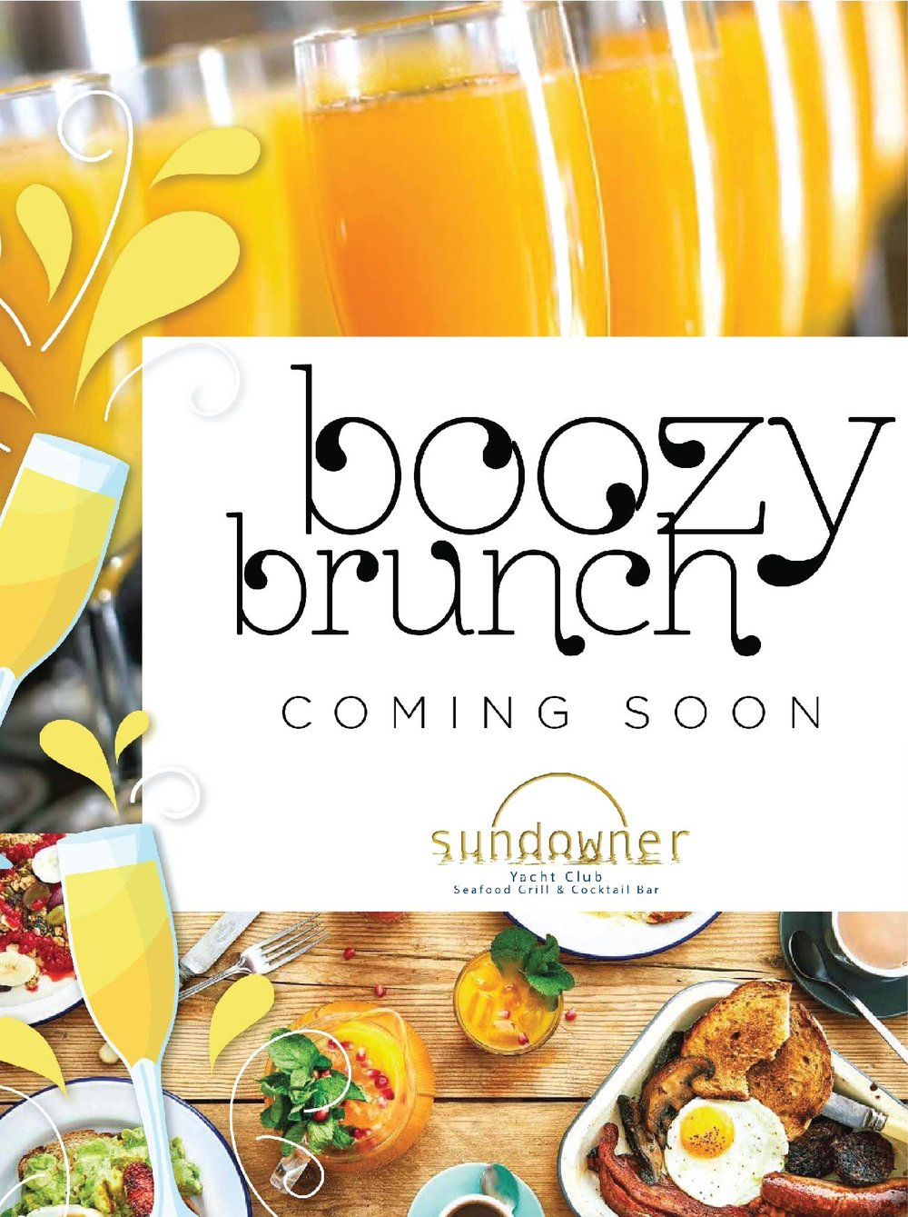 sundowner boozy brunch