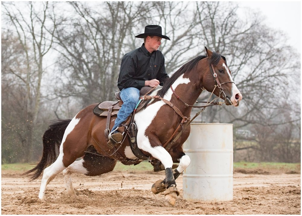 Paint Horse barrel racing stallion Ima Special Guy photography and marketing session in Tyler, Texas by Rachel Florman Creative