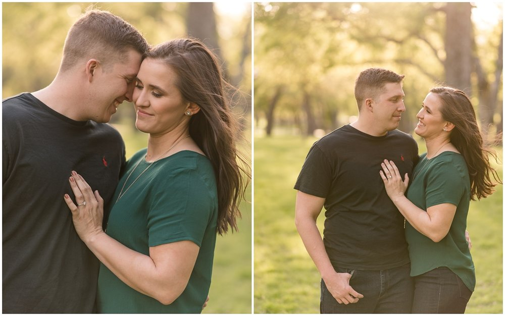 Fort Worth Trinity Park Engagement