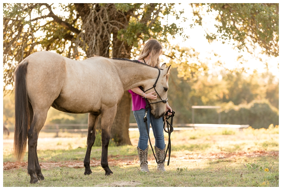 Kristyn & RC | North Texas Equine Portrait Session | The Equestrian Center of Aurora Vista