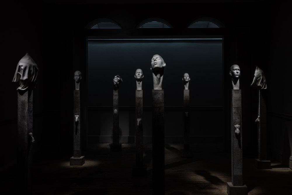 James Webster Martyr sculpture Tomasso