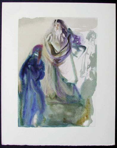 "The Walk Towards God - 13"" x 10 1/3"" - $2,500.00    FAB price $1,199.00"