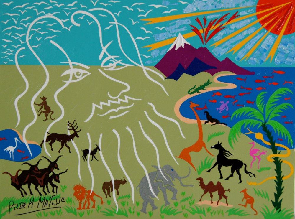 Living Vision (Genesis) - 12 x 16 - $3,250.00    FAB price $395.00