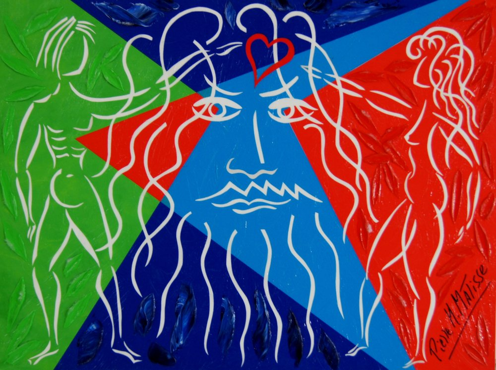 Vision of Love (Genesis) - 12 x 16 - $3,250.00    FAB price $395.00