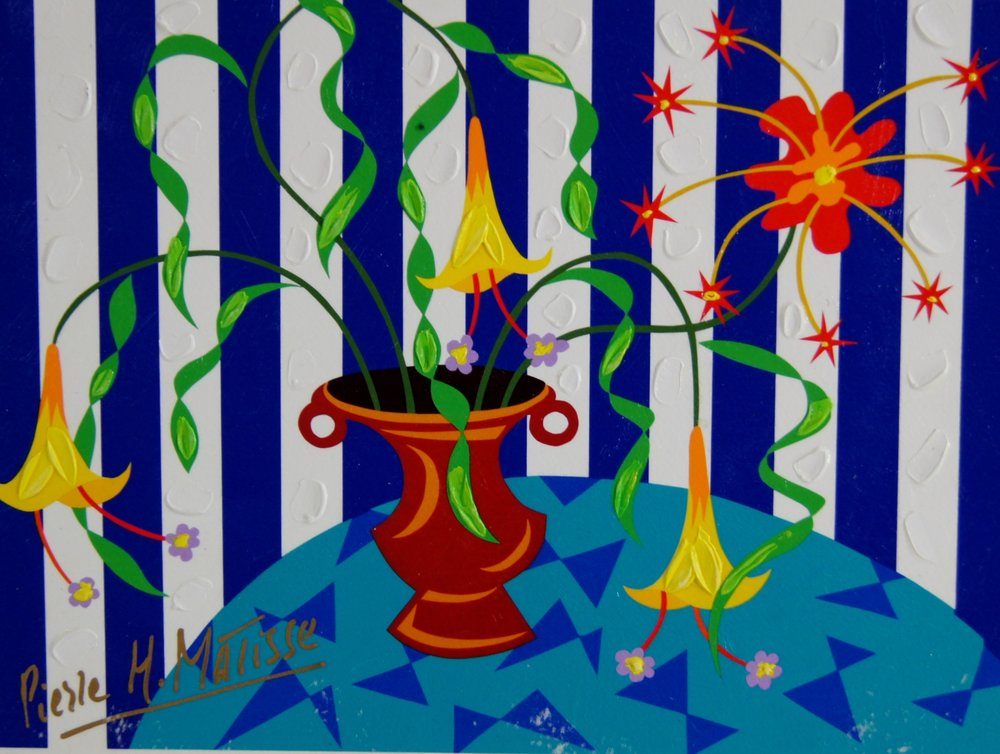 Flowers For Her - 8.75 x 12 - $2,950.00    FAB price $295.00