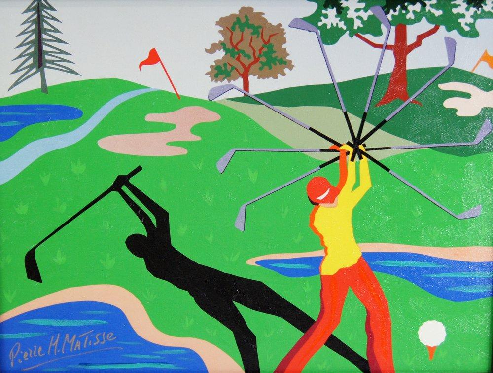 Swingin' On The Green - 15 x 20 - $4,950.00    FAB price $495.00