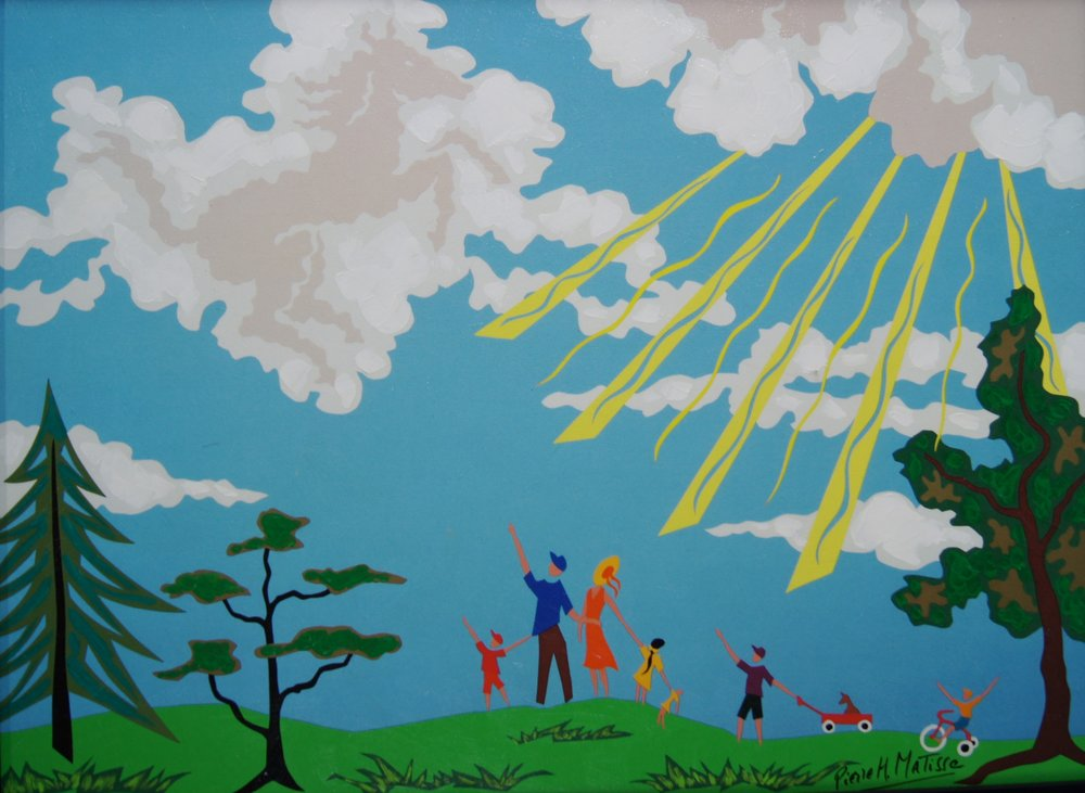 Do You See What I See  - 22 x 30 - $8,950.00    FAB price $895.00