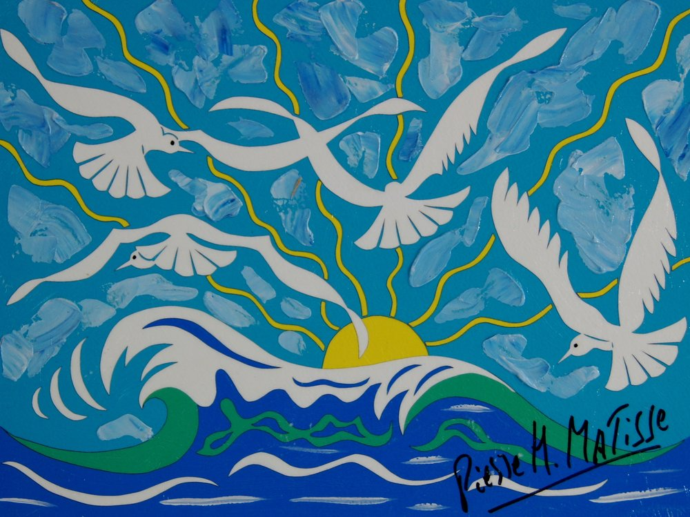 Wings Over The Morning - 9 x 12 - $4,950.00    FAB price $495.00