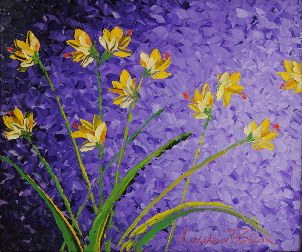 SUMMER WILDFLOWERS - 20 x 24 - $12,000.00    FAB price $6,000.00