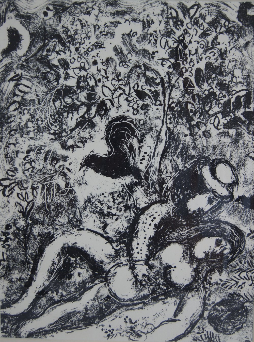 THE PAIR IN A TREE - 32 x 24 cm - $1,990.00    FAB price $595.00