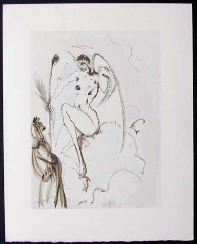"""Archangel Gabriel - 13"""" x 10 1/3"""" - $2,500.00    FAB price $1,199.00"""