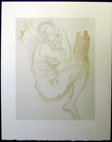 "Dante's Dream - 13"" x 10 1/3"" - $2,500.00    FAB price $1,199.00"