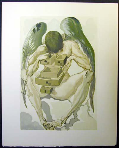 "The Fallen Angel - 13"" x 10 1/3"" - $2,500.00    FAB price $1,199.00"
