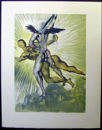 "The Guardian Angels of the Valley - 13"" x 10 1/3"" - $2,500.00    FAB price $1,199.00"