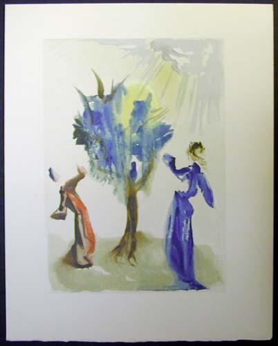 "The Tree of Penitence - 13"" x 10 1/3"" - $2,500.00    FAB price $1,199.00"
