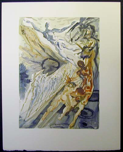 "The Two Crowds of the Lustful - 13"" x 10 1/3"" - $2,500.00    FAB price $1,199.00"