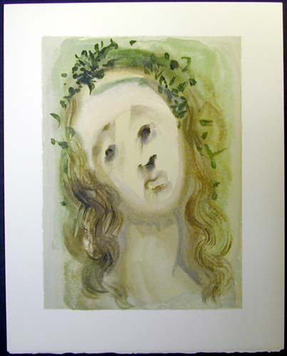 "Virgil's Face - 13"" x 10 1/3"" - $2,500.00    FAB price $1,199.00"