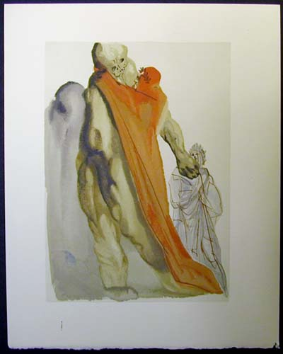 "Virgil Reproaches - 13"" x 10 1/3"" - $2,500.00    FAB price $1,199.00"