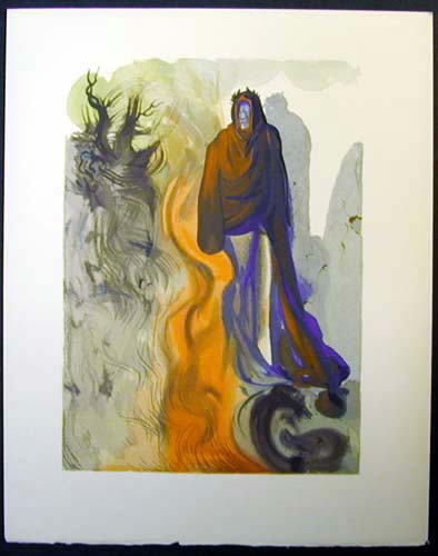 "The Apparition of Dis - 13"" x 10 1/3"" - $2,500.00    FAB price $1,199.00"