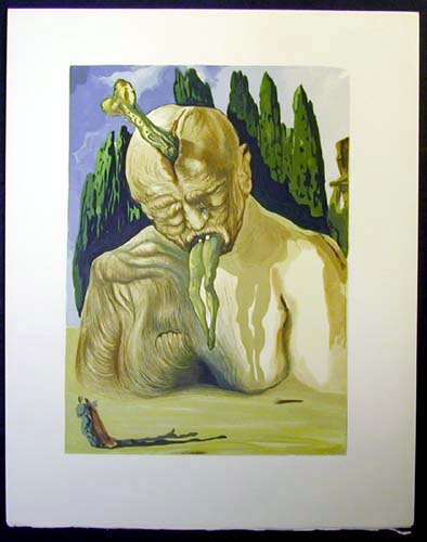 "The Devil Logician - 13"" x 10 1/3"" - $2,500.00    FAB price $1,199.00"