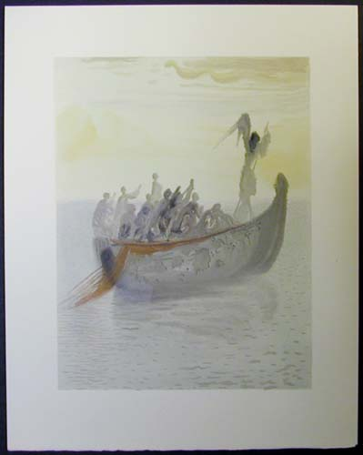 "The Ship of Souls - 13"" x 10 1/3"" - $2,500.00    FAB price SOLD"