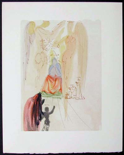 "The Triumph of Christ and the Virgin - 13"" x 10 1/3"" - $2,500.00    FAB price SOLD"