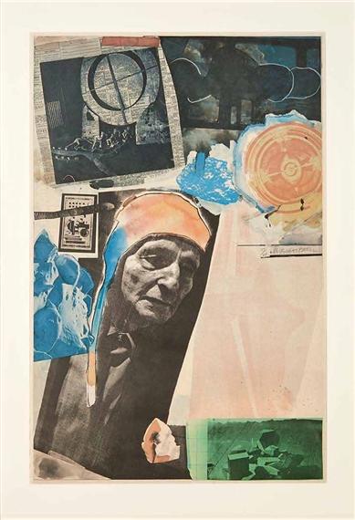 "Homage to Frederick Kiesler - 34 x 22"" - $4,990.00    FAB price $3,250.00"