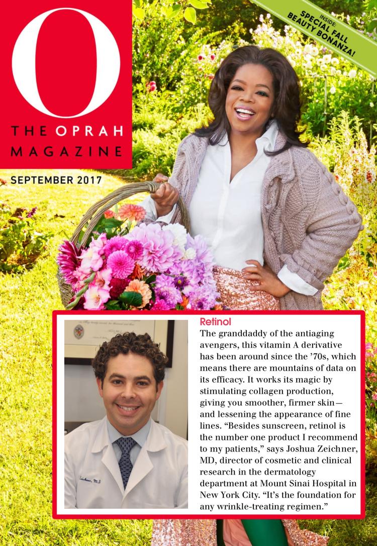 Oprah Magazine, 9/2017
