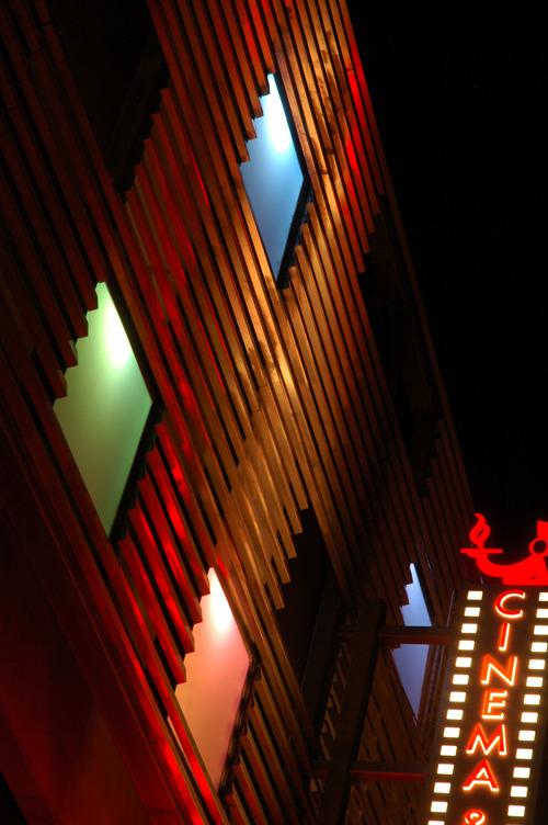 Emmet Culligan Artist Collaboration. Lowenstein theater parking structure.