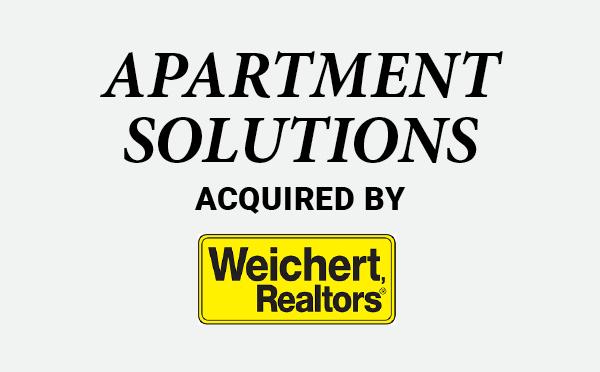 Apartment Solutions | Weichert Realtors