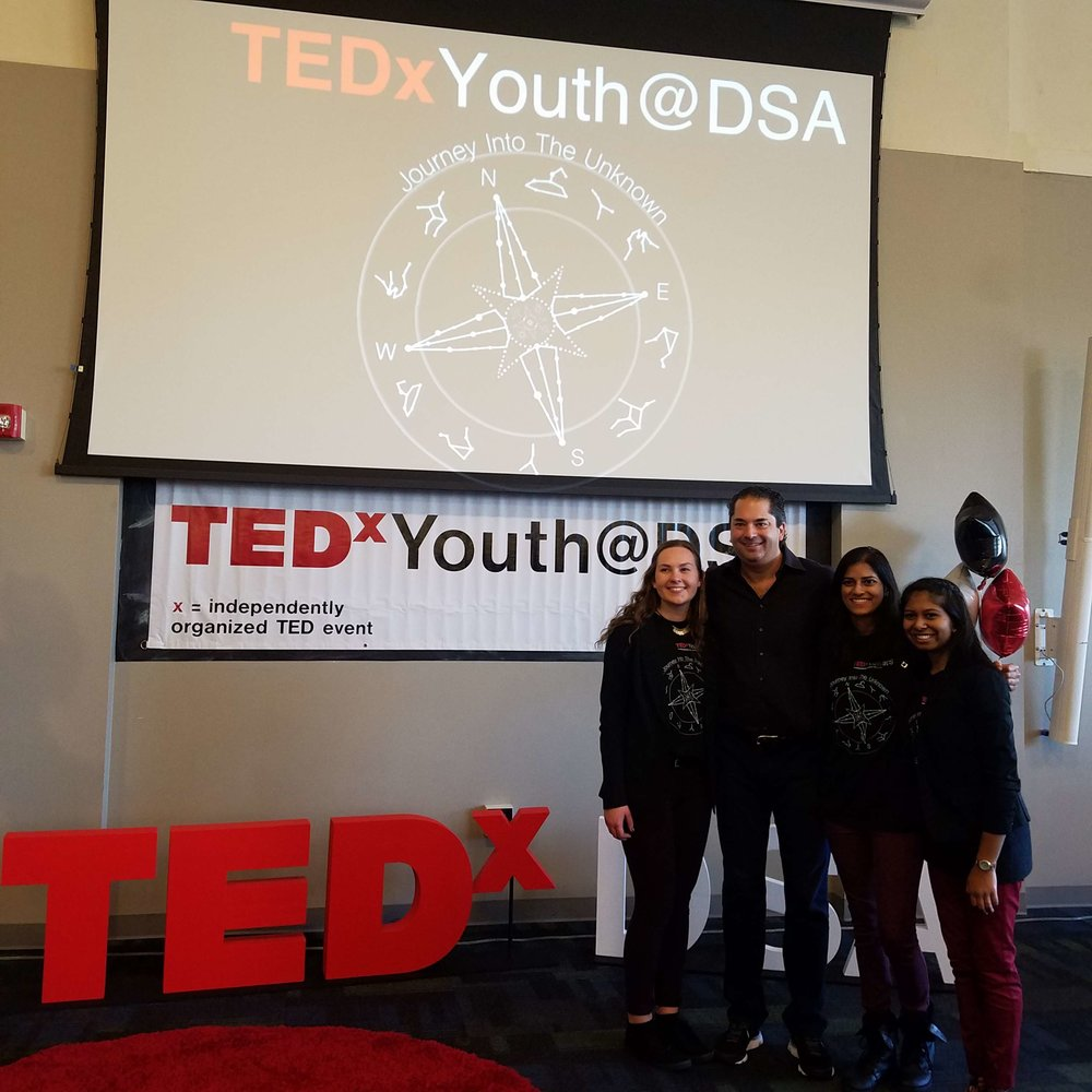 Wayne at TEDx Youth