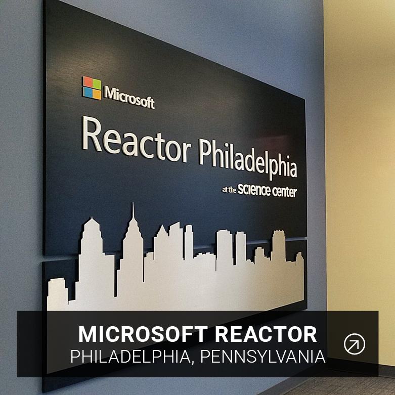 Microsoft Reactor PHL