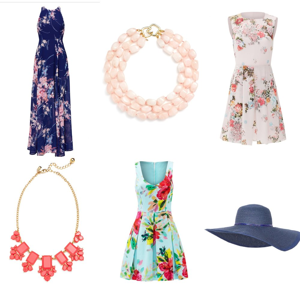 A few of my favorite Rent the Runway pieces for spring. Don't forget to accessorize!