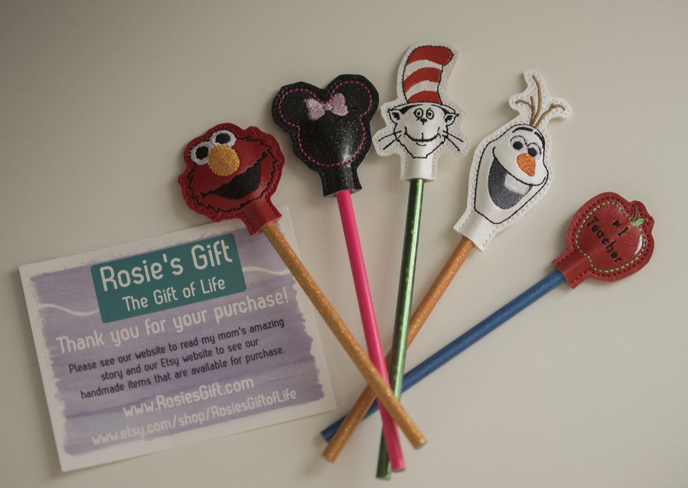 Sweet little teacher's gifts and stocking stuffers, available at rosiesgift.com.