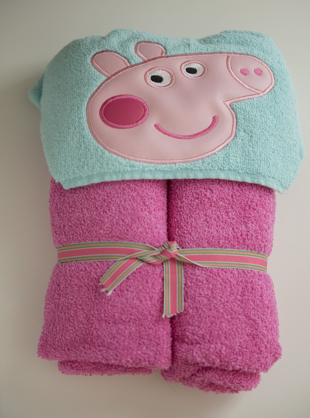 How cute is this hooded towel?!