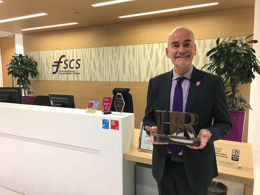 David Blackburn, Head of People at FSCS