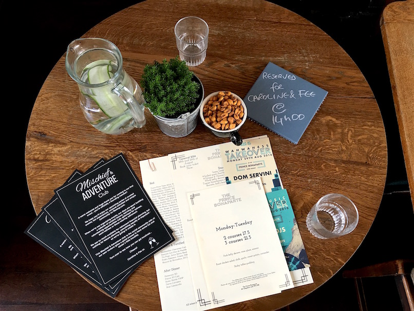 Rendezvous with a tipple or two... (our first event!)