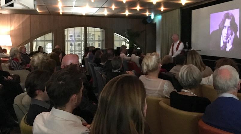 Oscar Wilde talk at Café Royal
