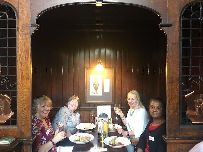Medieval pub lunch